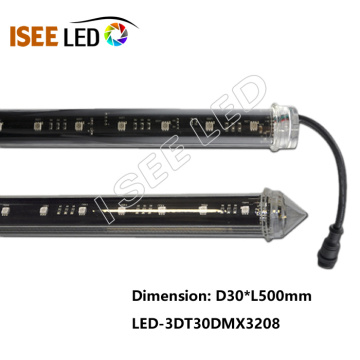 DMX Vertical 3D RGB Tube for Club Lighting