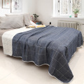 Plaid Yarn Dyed Blanket Woven of Gauze Cotton