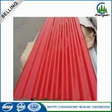 Zinc Coated Prepainted Cheap Steel Roofing Sheet