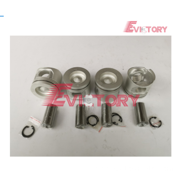 Excavator parts F4M1011 piston connecting rod crankshaft