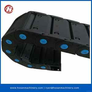 open& enclosed flexible cable plastic towline