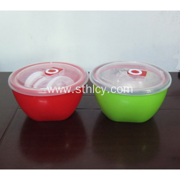 Stainless Steel Lunch Bowl With Tight Lids