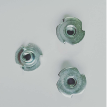Zinc plated 3 Prong Locking T- nuts