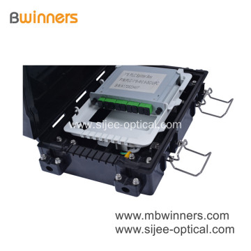 Pole Mounted Aerial Fiber Optic Splice Closure 24 Core