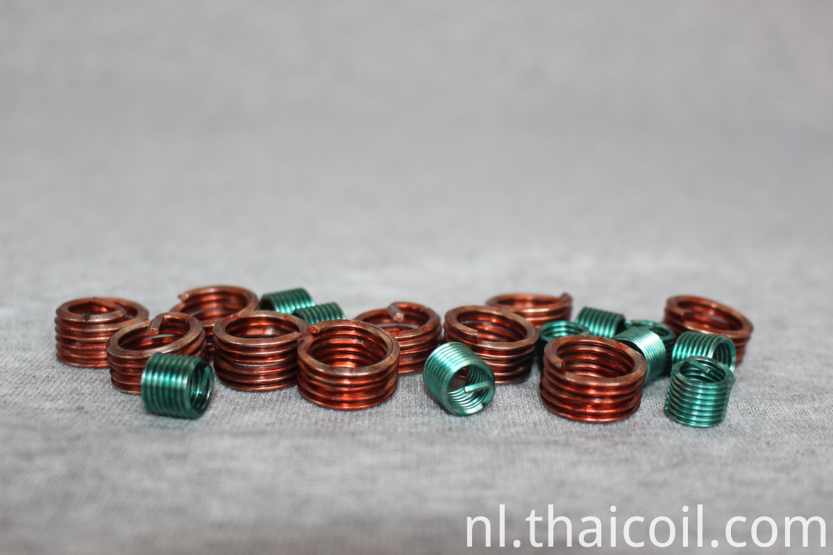 Tangless Coil Thread Inserts