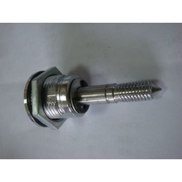 Silver Chrome-plated Adjustable ZDC Cabinet Barrel Cam Lock
