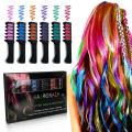 LADES 6 Pcs Temporary Hair Chalk Set