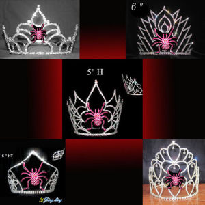 Spider Halloween Pageant Crown For Sale