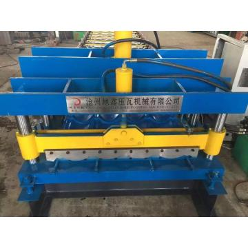 Professional Circular arc glazed tile roll forming machine
