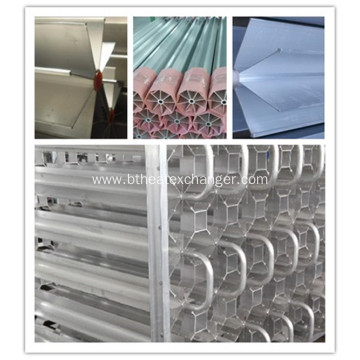 Aluminium Star Extruded Fin Tubes for Cryogenic Vaporizer