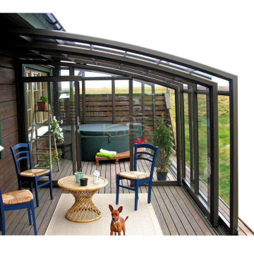 Sunroom Patio Enclosure Retractable Roof Sun Room