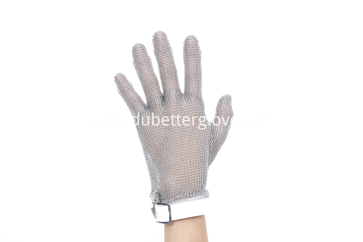 Dubetter steel gloves with plastic strap