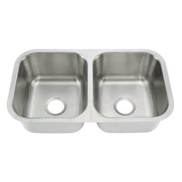 8046A Undermount Double Bowl Bar Sink