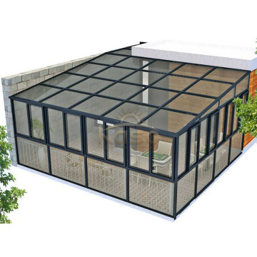 High Quality for Glass House Polycarbonate Winter Sun Room Glass Aluminum Popular Sunroom supply to Fiji Manufacturers