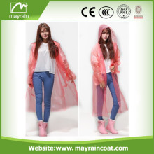 Promotion PE Disposable Poncho and Raincoat