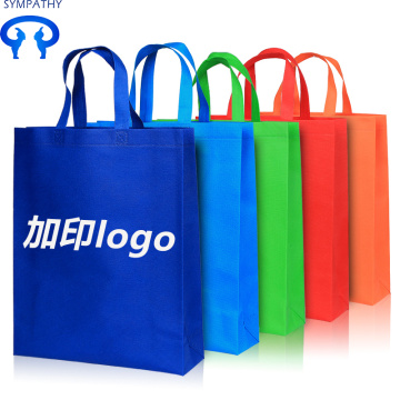 Non-woven bag shopping pocket folding and portable