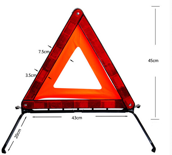 High Visibility Safety Reflective Tripod DL-208 12
