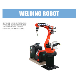 Customized Automatic Arc Welding Robot Arm