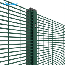 anti-climb 358 security mesh fencing