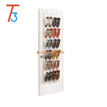 24 Pocket Over The Door Hanging Shoe Storage Bag