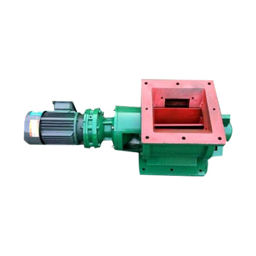 drop through rotary feeder valve rotary valve