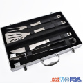 stainless steel BBQ TOOLS TPR soft handle