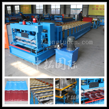 Archaized Glazed Tile Roll Forming Machine
