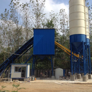 High quality precast HZS 60 concrete mixing plant