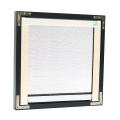 retractable screen window With PVC Frame