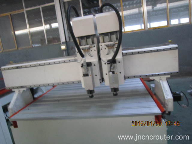 3d multi head  cnc wood router machine