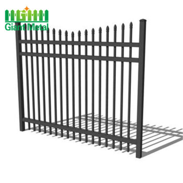 construction metal fence