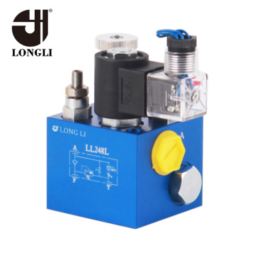 Custom Simple Hydraulic Control System