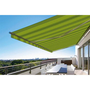 manual awning pergola outdoor