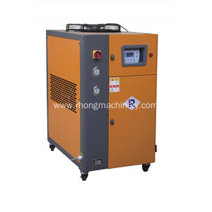 AIR-COOLED INDUSTRIAL CHILLERS FOR MOLD COOLING