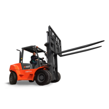 High Definition for 5.0-8.0Ton Diesel Forklift 8.0 Ton Counterbalanced Forklift with Different Color supply to Montserrat Importers