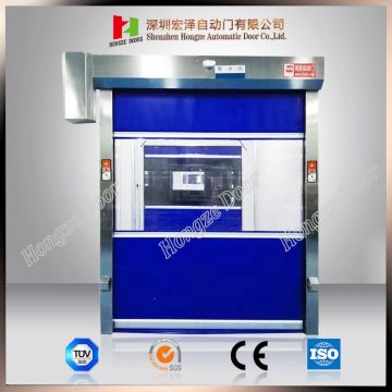 Automatic Industrial PVC Fabric Rapid Shutter Door