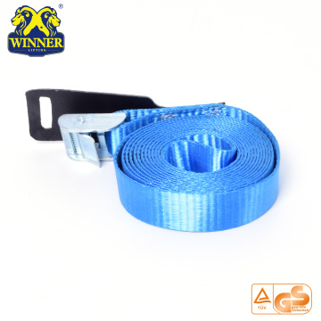 Easy-Operating Cargo Lashing Tie Down Ratchet Strap With Buckle