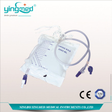 Top for Urinary Drainage Bag With T Valve Luxury  2000ml Urine Collection Bag supply to Bahrain Manufacturers