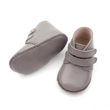 Double Strap Soft Sole Ankle Baby Boots
