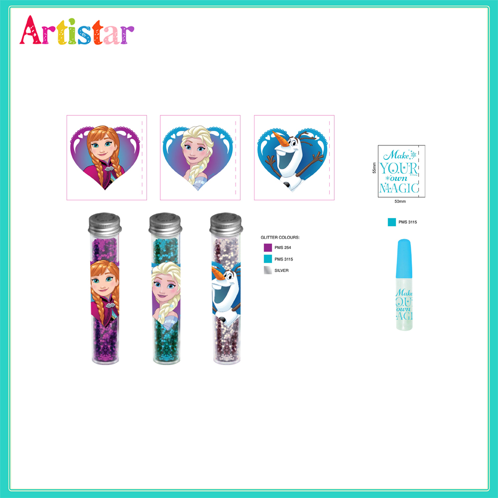 Disney Frozen Glitter Pack Create Your Own Craft Set 2