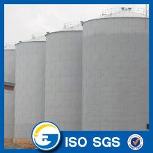 Assembly Corrugated Grain Silo