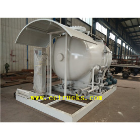 5cbm Mobile LPG Skid Mounted Stations
