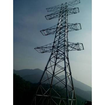 Manufactur standard for Mono Steel Tower 500kv Self Supporting Lattice Steel Tower supply to Guatemala Supplier