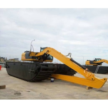 High Efficiency 110W-115W Amphibious Excavator For Sale