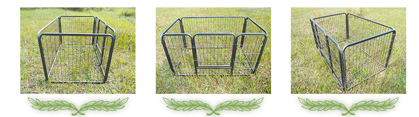 pet kennel with cover