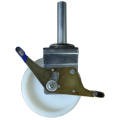 Scaffoldiong casters with Nylon wheel
