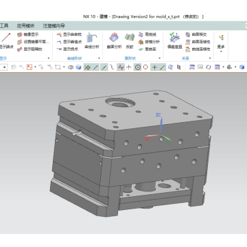 High precision die casting metal mould design