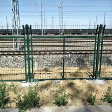 Railway Station PVC Frame Wire Mesh Fence