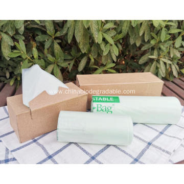 100% Biodegradabeplastic Compostable Garbage Plastic Bags