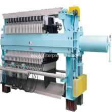 Tapioca Flour Hydraulic Cast Iron Filter Press